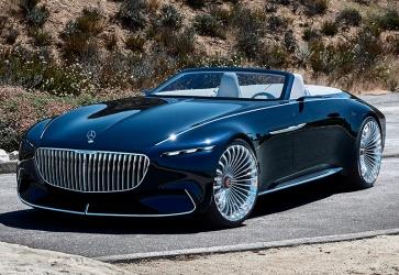 2017 Mercedes-Maybach 6 Cabriolet Vision Concept
